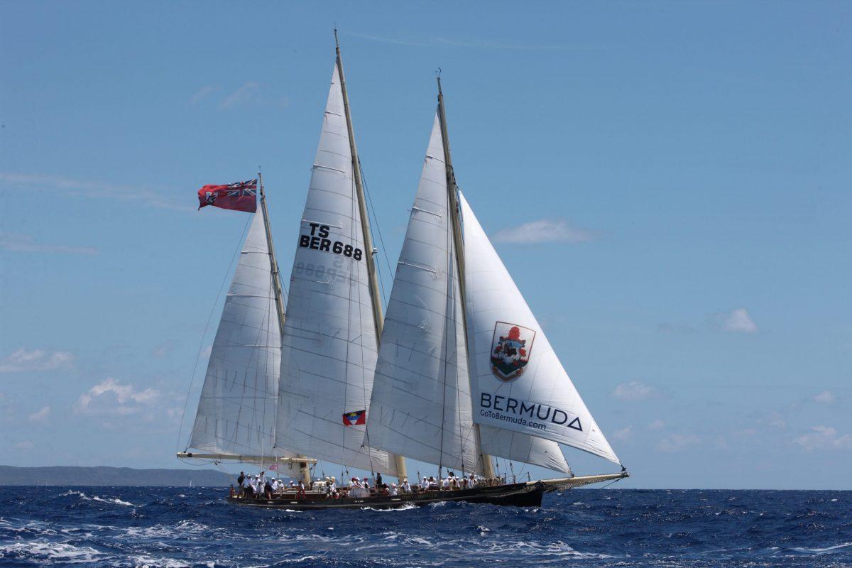 Spirit of Bermuda full sail