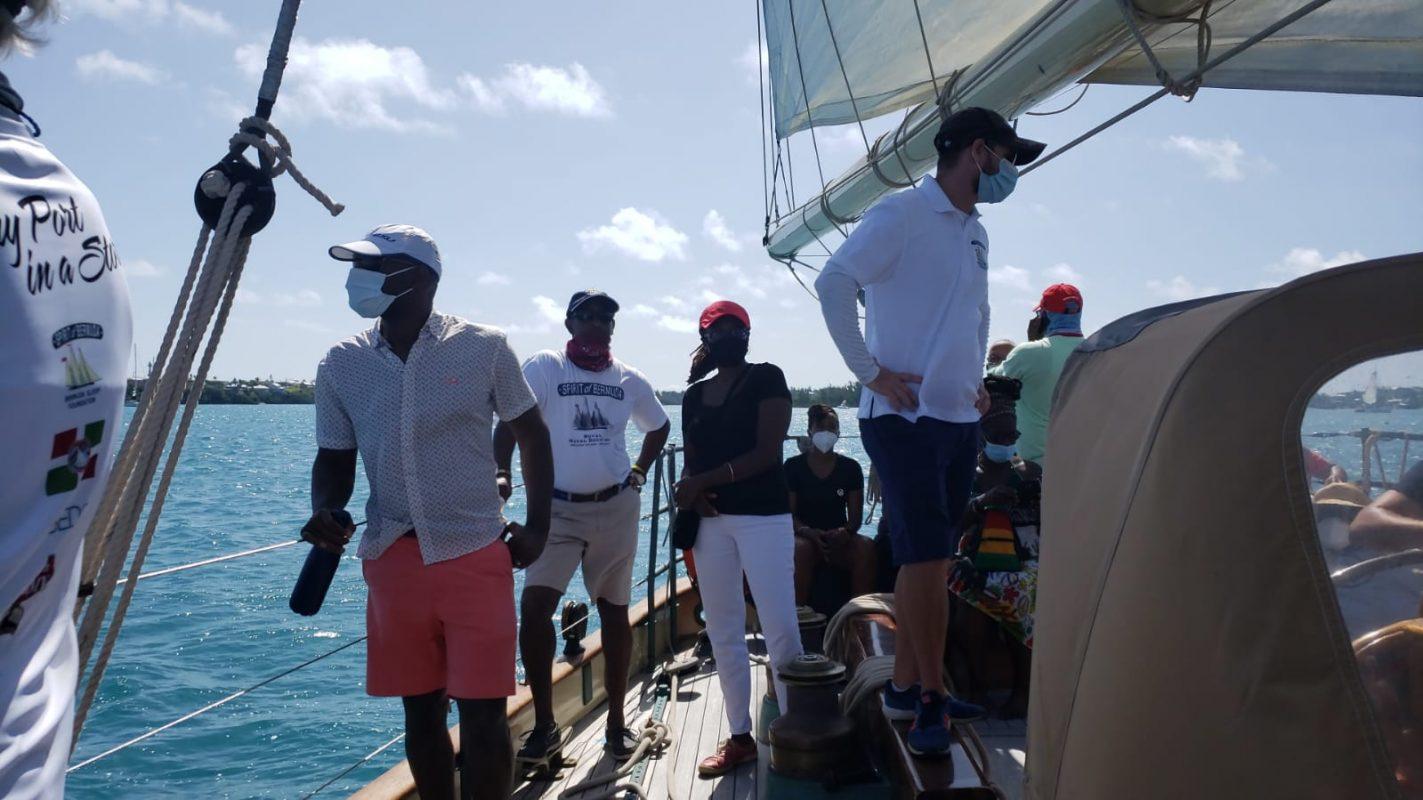 raising sails on spirit