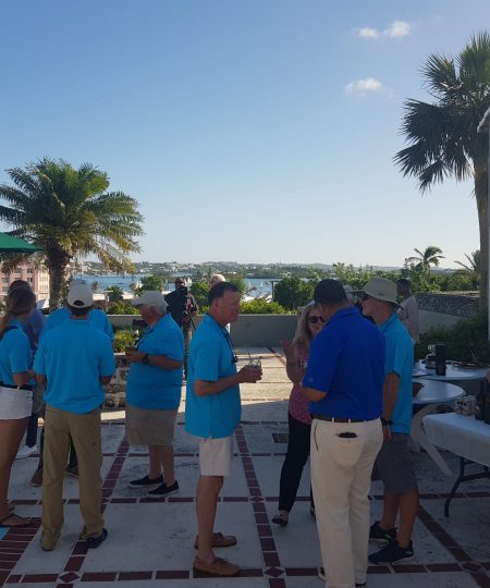 Bermuda Arrival Party and 1st Prizegiving