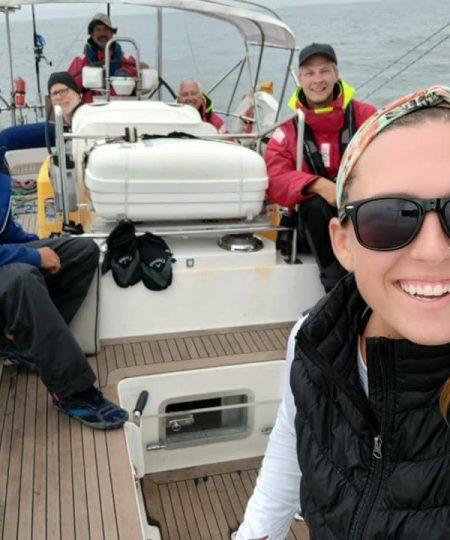 High Note having fun at Sea